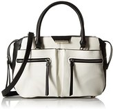 Nine West Just Zip It Satchel Bag