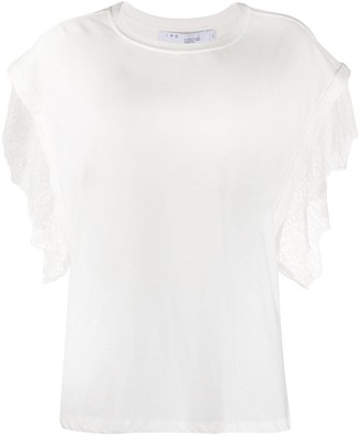 IRO lace trim T-shirt