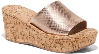 New York & Co. Mule Wedge Sandal