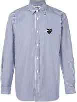 Comme des Garcons striped button down shirt