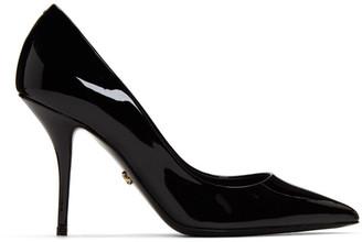 Dolce & Gabbana Black Patent Kate Heels