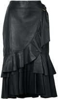 Rebecca Vallance ruffled skirt