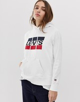 Levi's hoodie with sports vintage logo