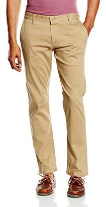 Dockers BIC PACIFIC WASHED KHAKI SLIM TAPERED - STRETCH TWILL Trouser,W36/L34 (Manufacturer size: 36)