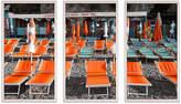 "One Kings Lane La Marinella Triptych - Natalie Obradovich - 25.5""L x 48""W x 2.5""D Art"