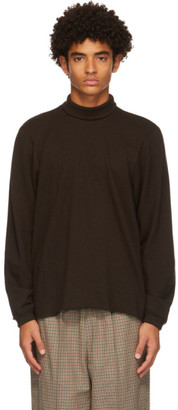 Camiel Fortgens Brown Tailored Wool Sweater