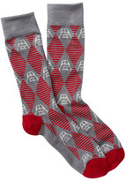 Cufflinks Inc. Darth Vader Argyle Stripe Crew Socks