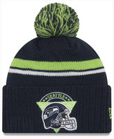 New Era Seattle Seahawks Diamond Stacker Knit Hat