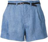 GUILD PRIME front pleat shorts