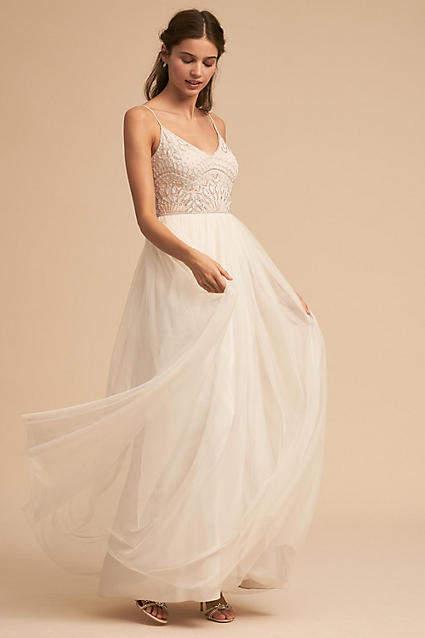 Anthropologie Violetta Wedding Guest Dress
