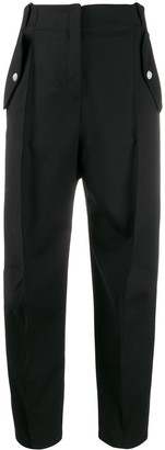 Pinko High-Waisted Pleated Trousers