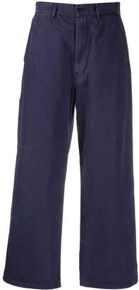 Danton High Waisted Flare Trousers