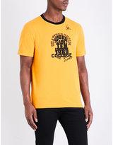 Maison Margiela Graphic-print Jersey T-shirt