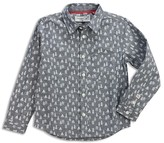 Sovereign Code Boys' Tree Print Woven Shirt - Sizes 4-7