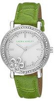 Laura Ashley Women's LA31013GR Analog Display Japanese Quartz Green Watch