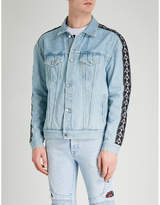 Marcelo Burlon County of Milan x Kappa denim jacket