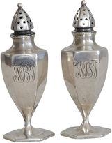 One Kings Lane Vintage Antique Sterling Salt & Pepper Shakers