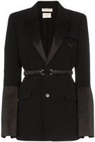 Bottega Veneta belted detail blazer