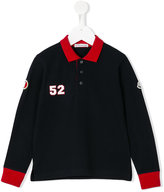 Moncler long sleeve polo shirt