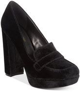Nine West Dakimo Block-Heel Pumps Women's Shoes