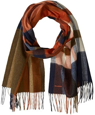 Chan Luu Plaid Lambs Wool Scarf (Total Eclipse) Scarves