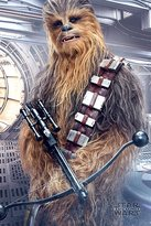 """Star Wars Episode 8 Poster Chewbacca Bowcaster (24""""x36"""")"""