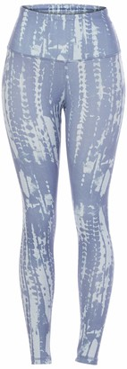 Danskin Women's Active High Waist Tie Dye Legging