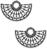 INC International Concepts Hematite-Tone Gray Pavé Stud Earrings, Created for Macy's