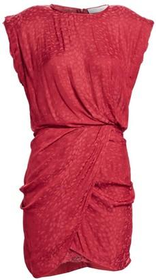 IRO Dedora Draped Mini Dress