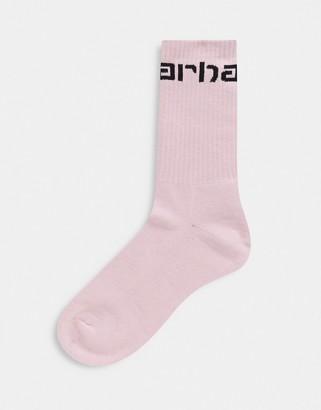Carhartt WIP socks in pink