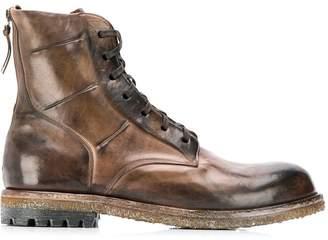 Silvano Sassetti ankle lace-up boots