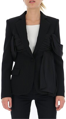 Moschino Draped Detail Tailored Blazer