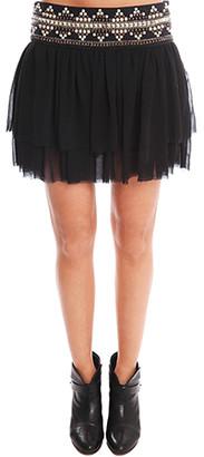 Pierre Balmain Black Skirt