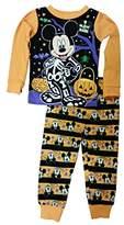 Disney Mickey Mouse Little Boys Toddler Halloween Pajama Set