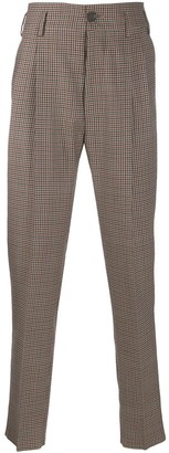 Vivienne Westwood Houndstooth Check Trousers