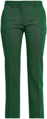 Piazza Sempione Cropped Cotton-blend Twill Straight-leg Pants