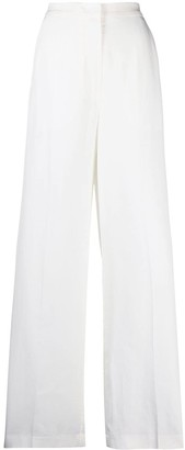 REMAIN Wide-Leg Flared Trousers