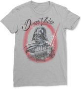 Mighty Fine Men's Star Wars Darth Vader Lightsaber Graphic-Print T-Shirt