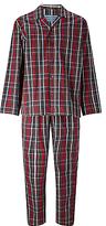 John Lewis Ashford Poplin Check Pyjamas, Red
