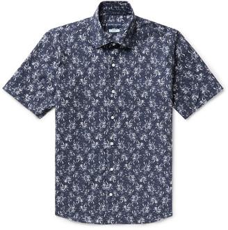Peter Millar Giardini Floral-Print Cotton-Voile Shirt