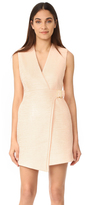 Carven V Neck Sleeveless Dress