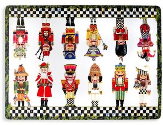 Mackenzie Childs Nutcracker 4-Piece Placemat Set