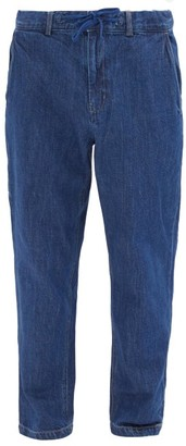 Saturdays NYC Shaw Drawstring-waist Jeans - Blue
