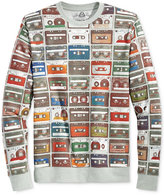 American Rag Men's Cassette Tape Mix It Up Retro Sweatshirt, Only at Macy's
