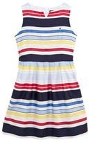 Tommy Hilfiger Multi-Coloured Stripe Woven Dress