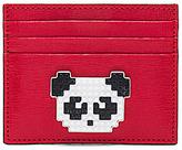 Les Petits Joueurs Panda Cardholder in Red.