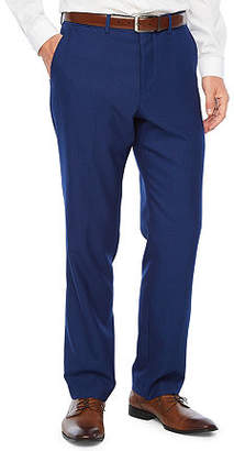 Jf J.Ferrar Bright Luster Mens Striped Stretch Classic Fit Suit Pants - Big and Tall
