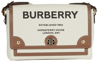 Burberry Note crossbody leather bag