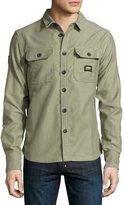 Superdry Ultimate Moleskin Sport Shirt, Ranger Green