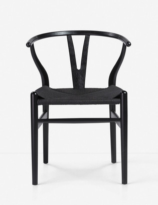 Lulu & Georgia Signe Dining Chair, Black (Set of 2)